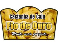 CASTANHA DE CAJU FIO DE OURO