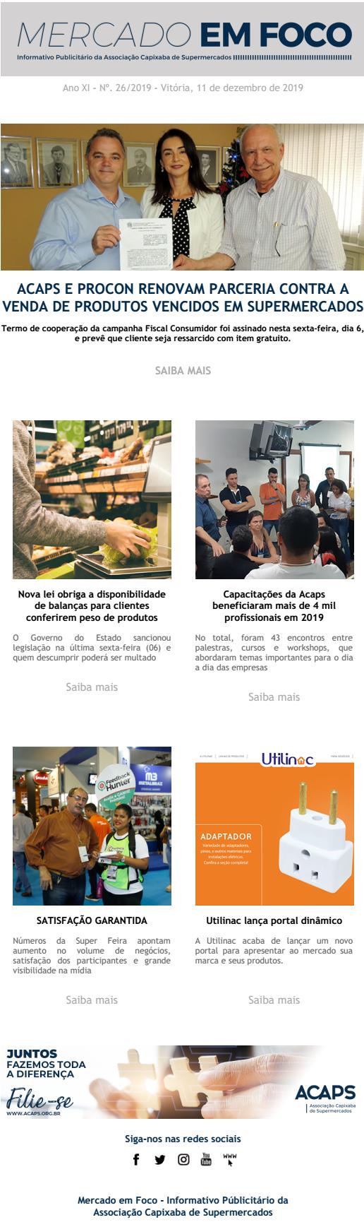 MERCADO EM FOCO 26-2019