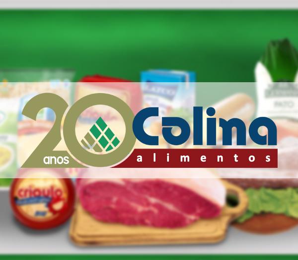 Colina Alimentos completa 20 anos de atua��o no mercado