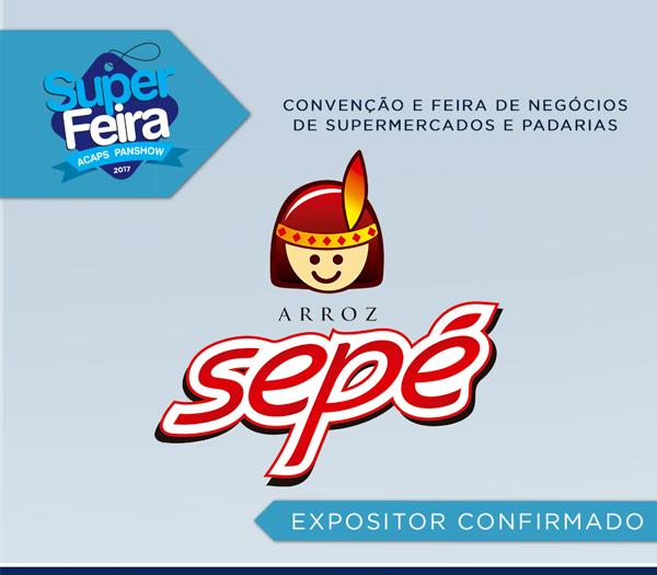 Arroz Sep� completa 25 anos de participa��o na Super Feira 2017