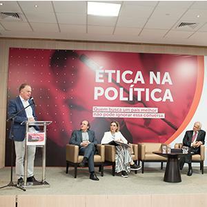 Valores morais e �ticos debatidos em evento sobre pol�tica brasileira